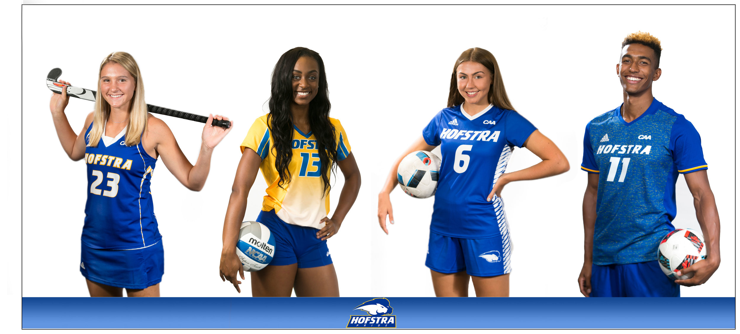 Hofstra University Fall Sports 2017 collage