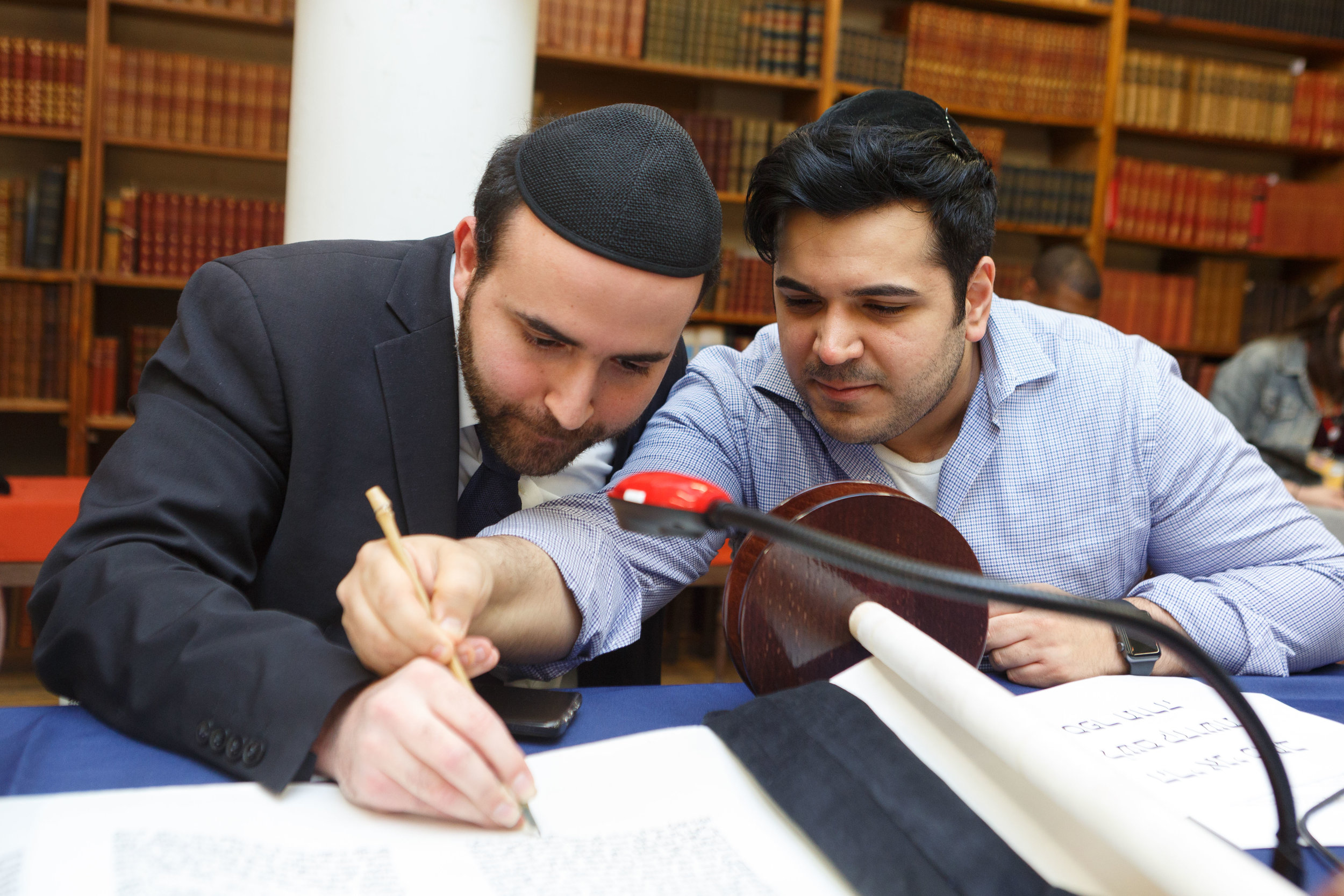 NYU Bronfman Center Torah Completion _ Jonathan Heisler _ 4112019 _114.jpg