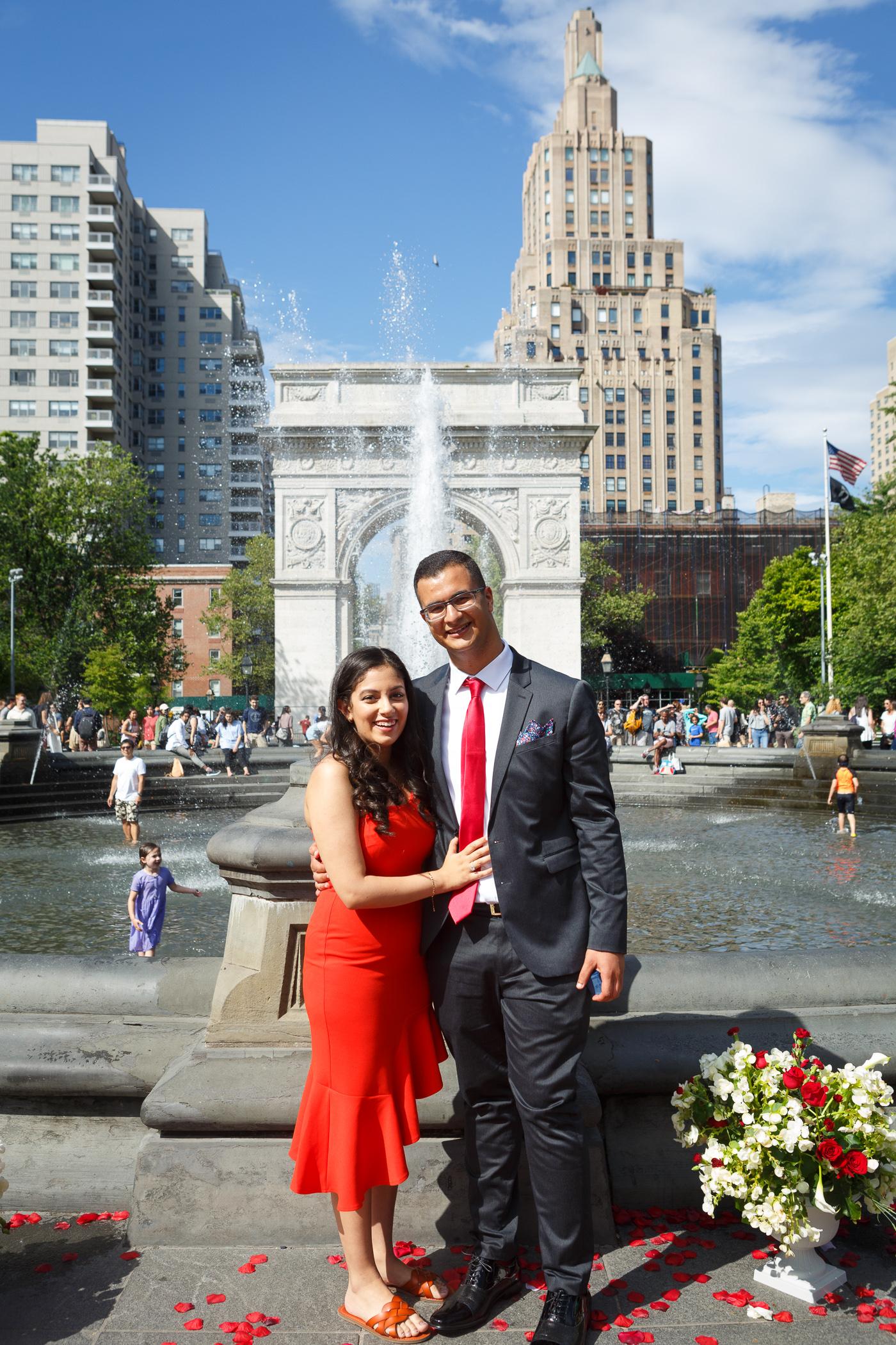 Kiro Rebecca Washington Square Park Marriage Proposal _ Jonathan Heisler _ 6152019 _026.jpg