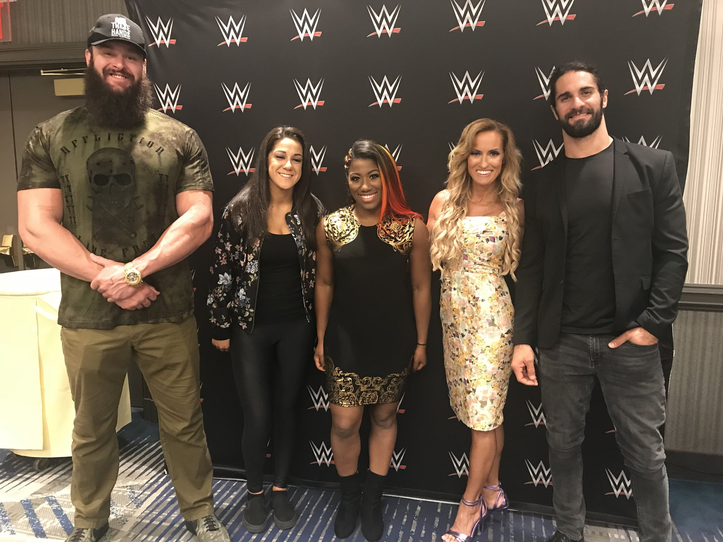 Dana Warrior WWE (Hair & Makeup)