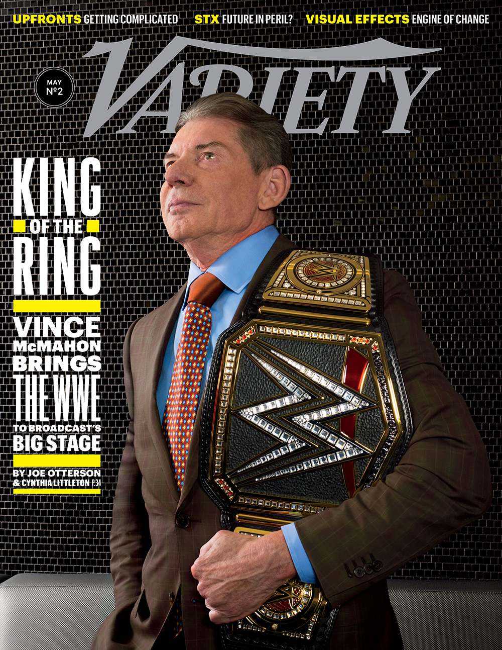 Male Grooming for Vince McMahon