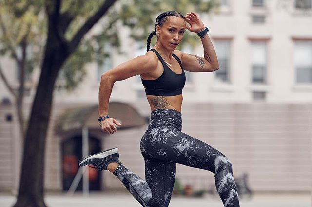 🔥To all my hustlers, let's gear up for the week ahead together! 🔥  NEW 20 min Advanced HIIT Run + 20 min Hip Hop Fun Run now on demand 💦💥 Which will you take?