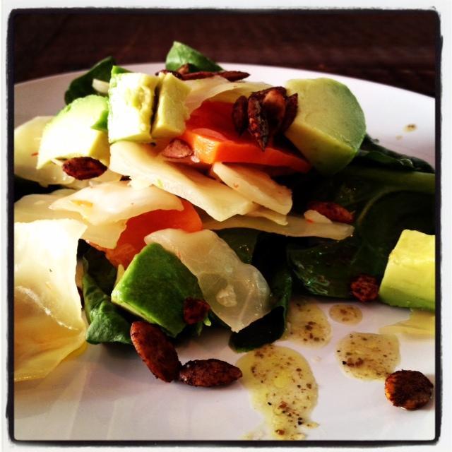 kimchi-avocado-salad