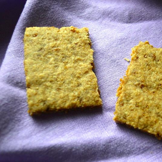 Gluten Free Cinnamon Almond Graham Crackers