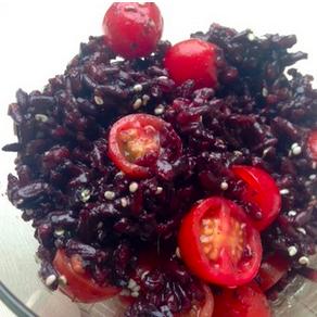 Sweet Curried Black Rice