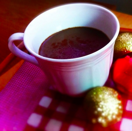 Redness-Relieving Hot Chocolate Chai