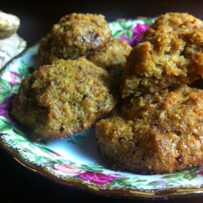 Gluten Free Ginger Coconut Cookies
