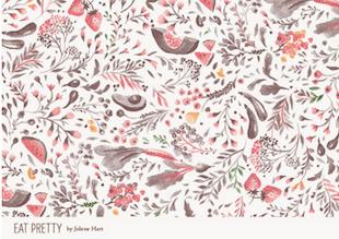Eat Pretty Wallpaper 1