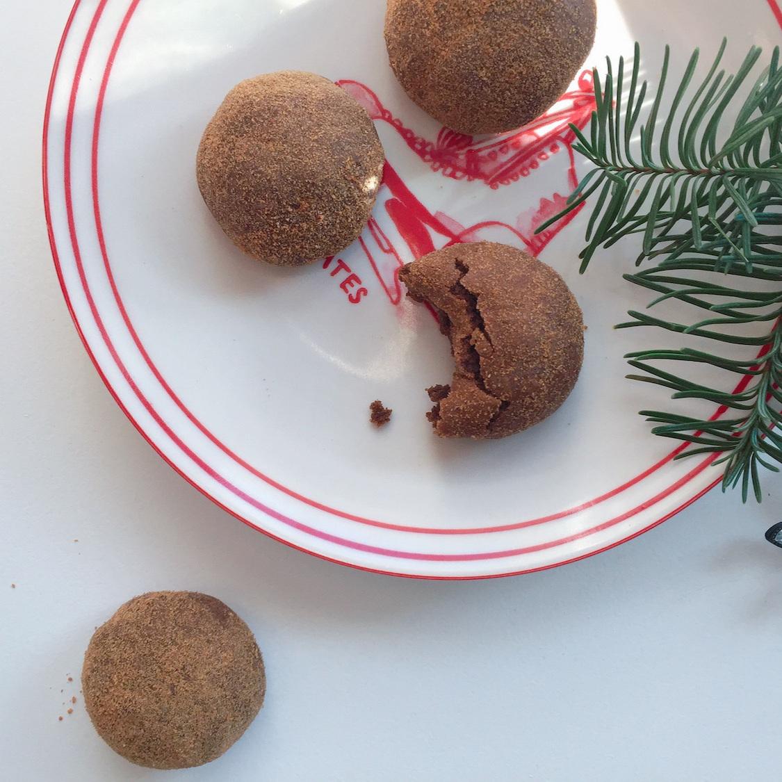 Holiday Pfeffernusse Cookies