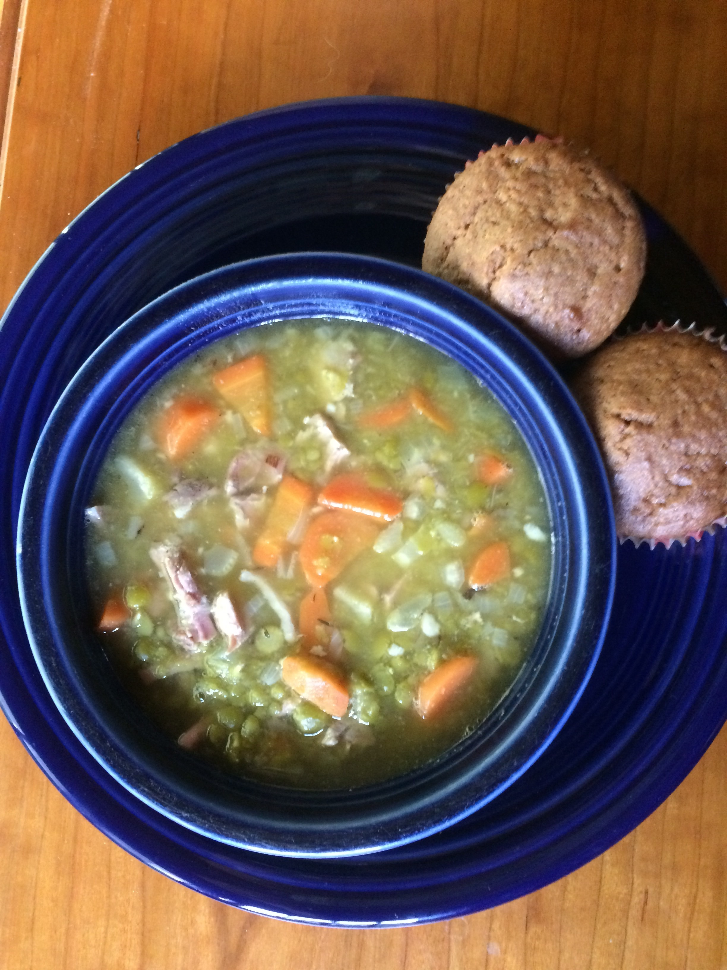 Cook's Illustrated version of split pea soup.
