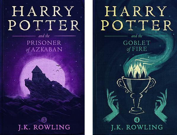 Harry Potter Olly Moss