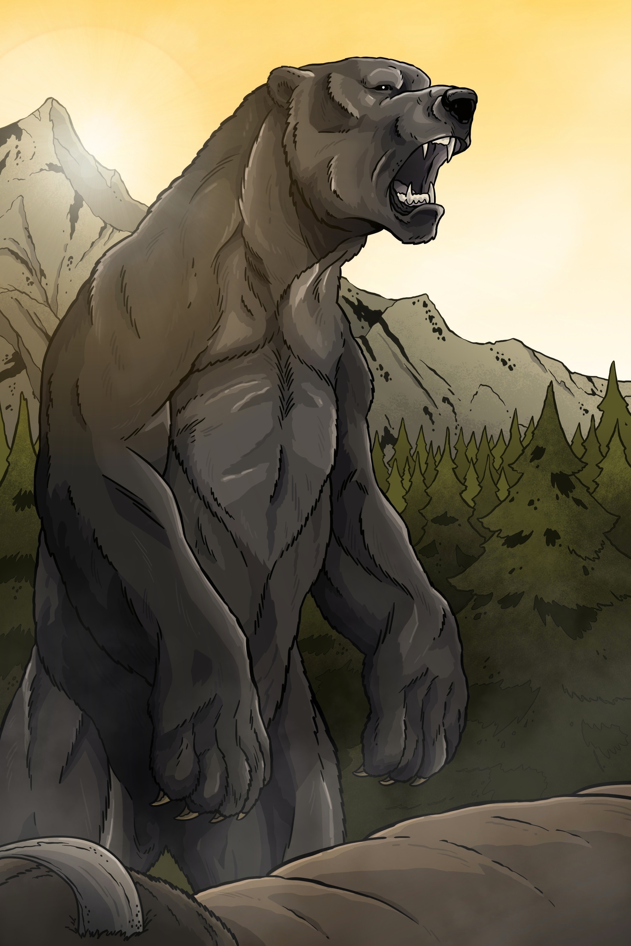 Giant Short-Faced Bear!