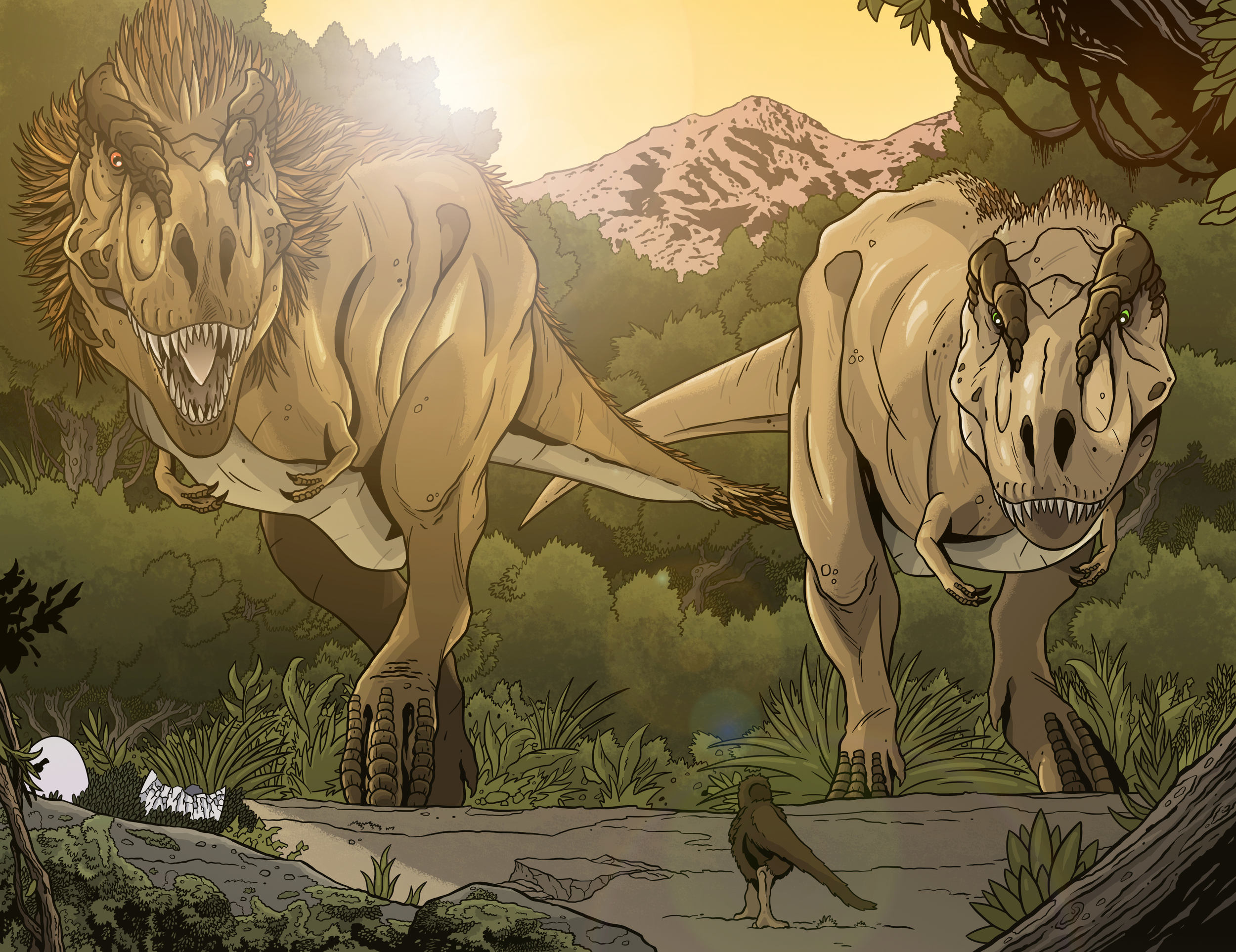 "The last one, a final debut piece, ""The Rex Family""."