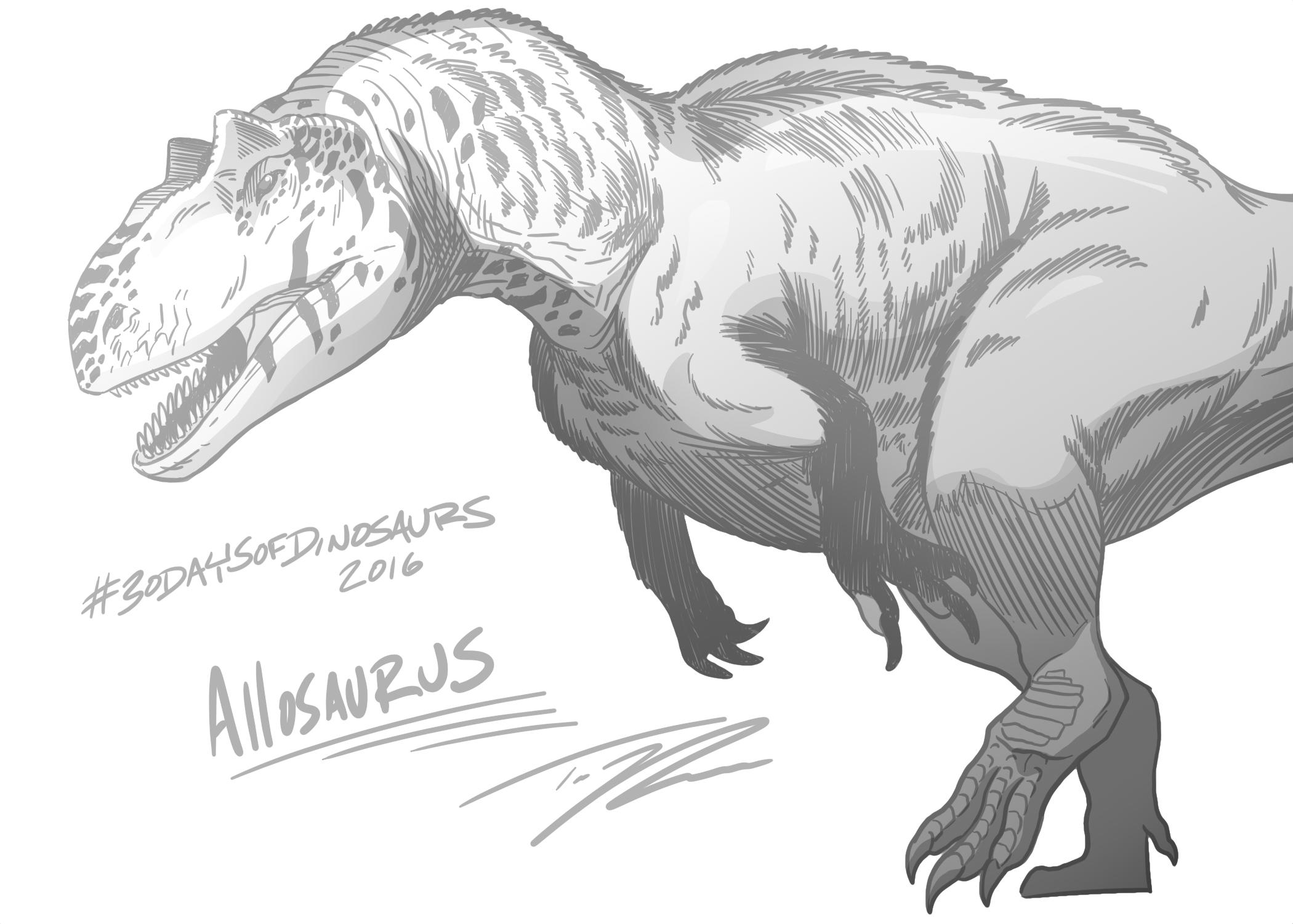 AllosaurusTedRechlin