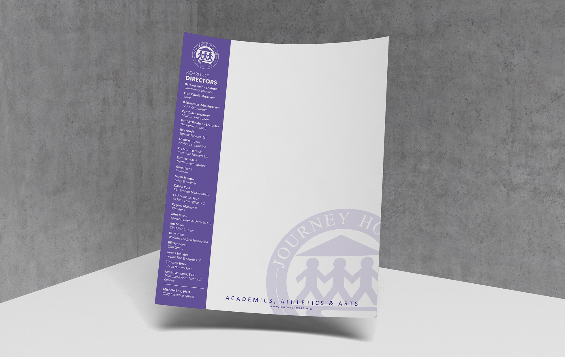 Journey House Letterhead