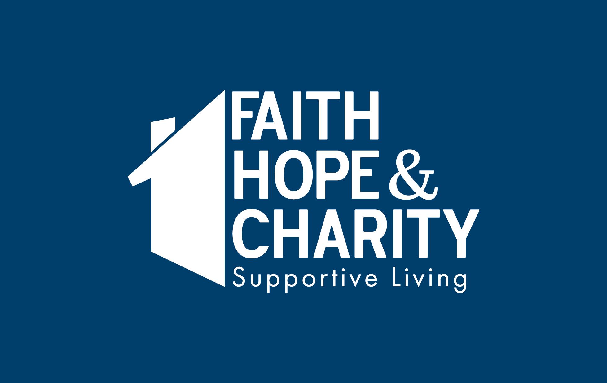 Faith Hope & Charity Logo Reverse