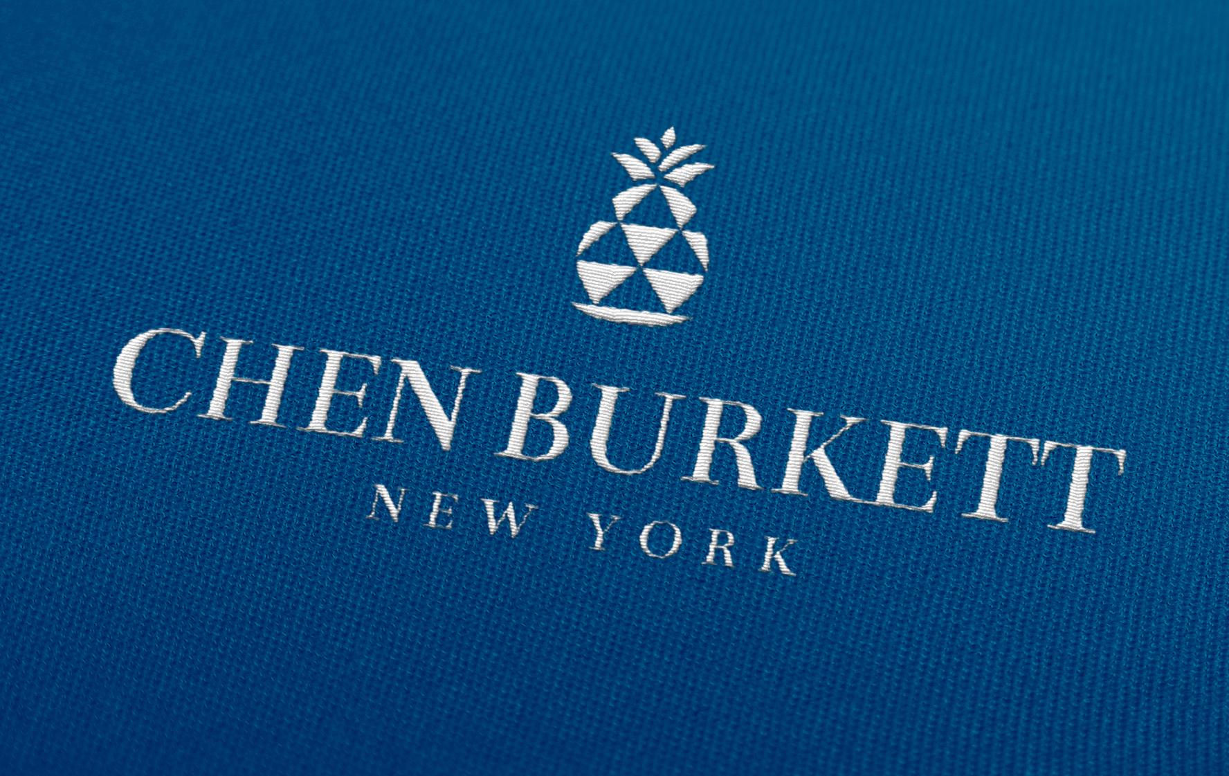 Chen Burkett New York Logo Reverse