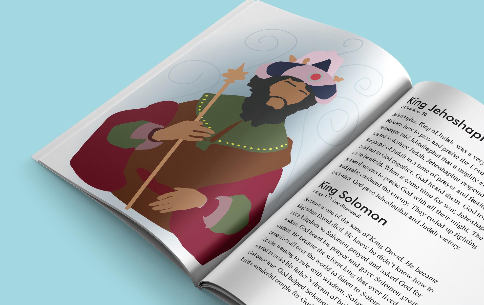 Character Illustration: Jehoshaphat