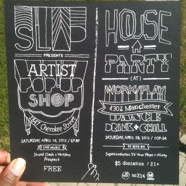 Flyer design by duo work/play