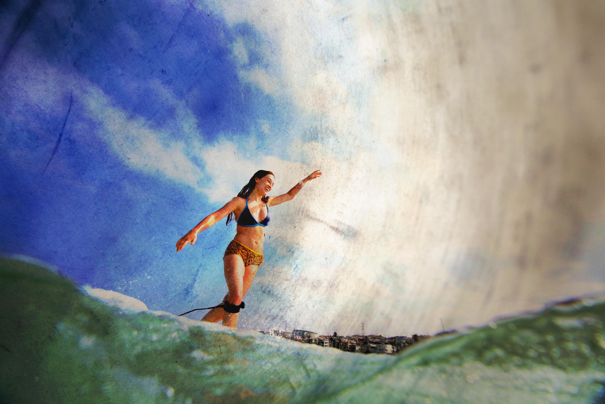 LongboarderSurferGirlWidePainting01.jpg