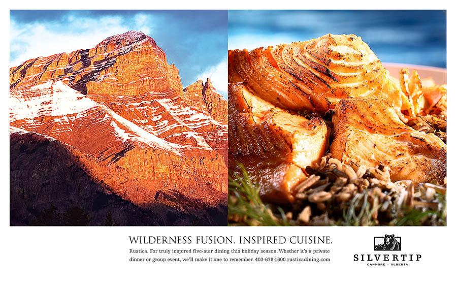 SilverTip Restaurant Billboard