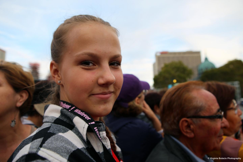 Normal   0   0   1   11   64   1   1   78   11.1282                      0       0   0          Kasia Rogala viajócon un grupo de estudiantes de Canada para ver a el papa en Filadelfia.