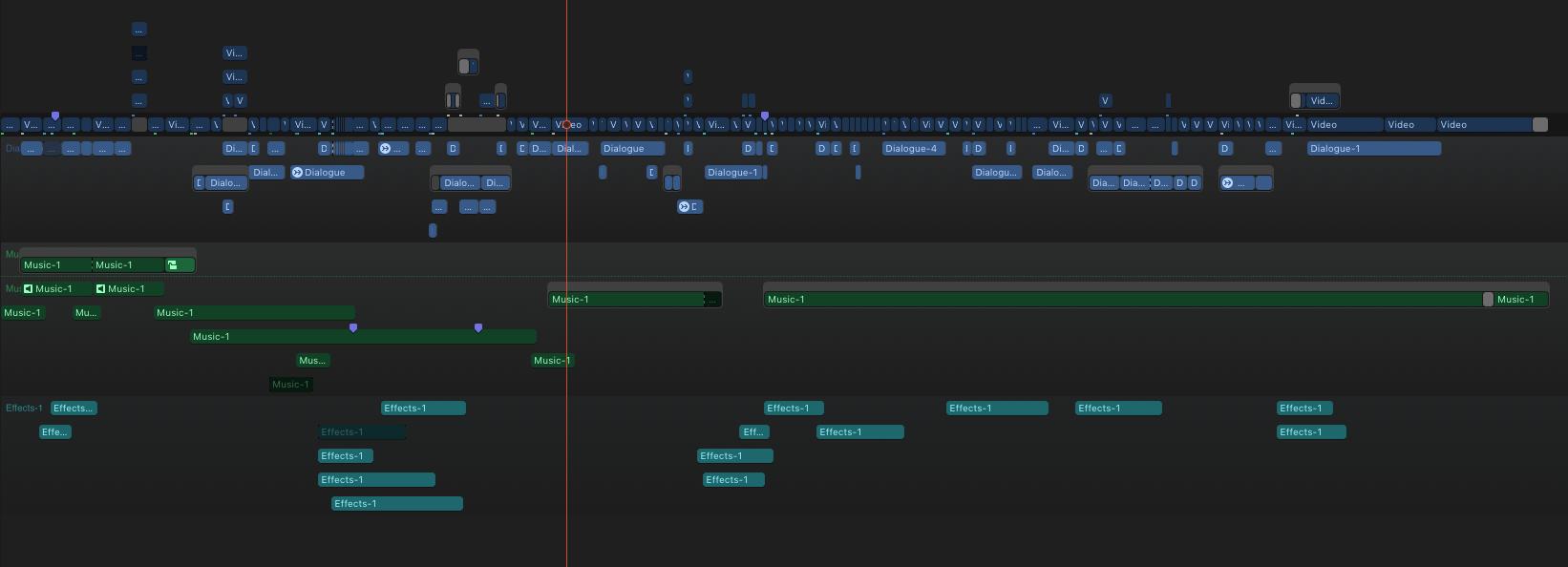 The final edit, with Roles keeping everything nice and tidy.