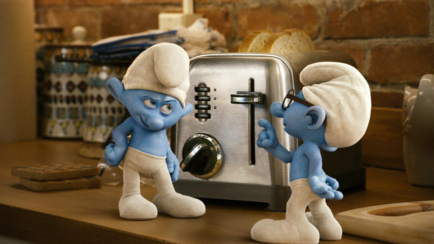 Grouchy and Brainy - The Smurfs