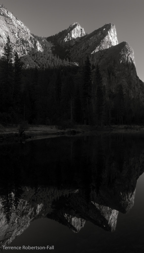 The Three Brothers, Yosemite National Park by Terrence Robertson-Fall