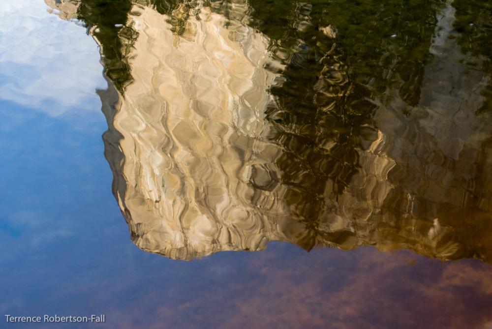 Watercolor, El Capitan, Yosemite National Park by Terrence Robertson-Fall