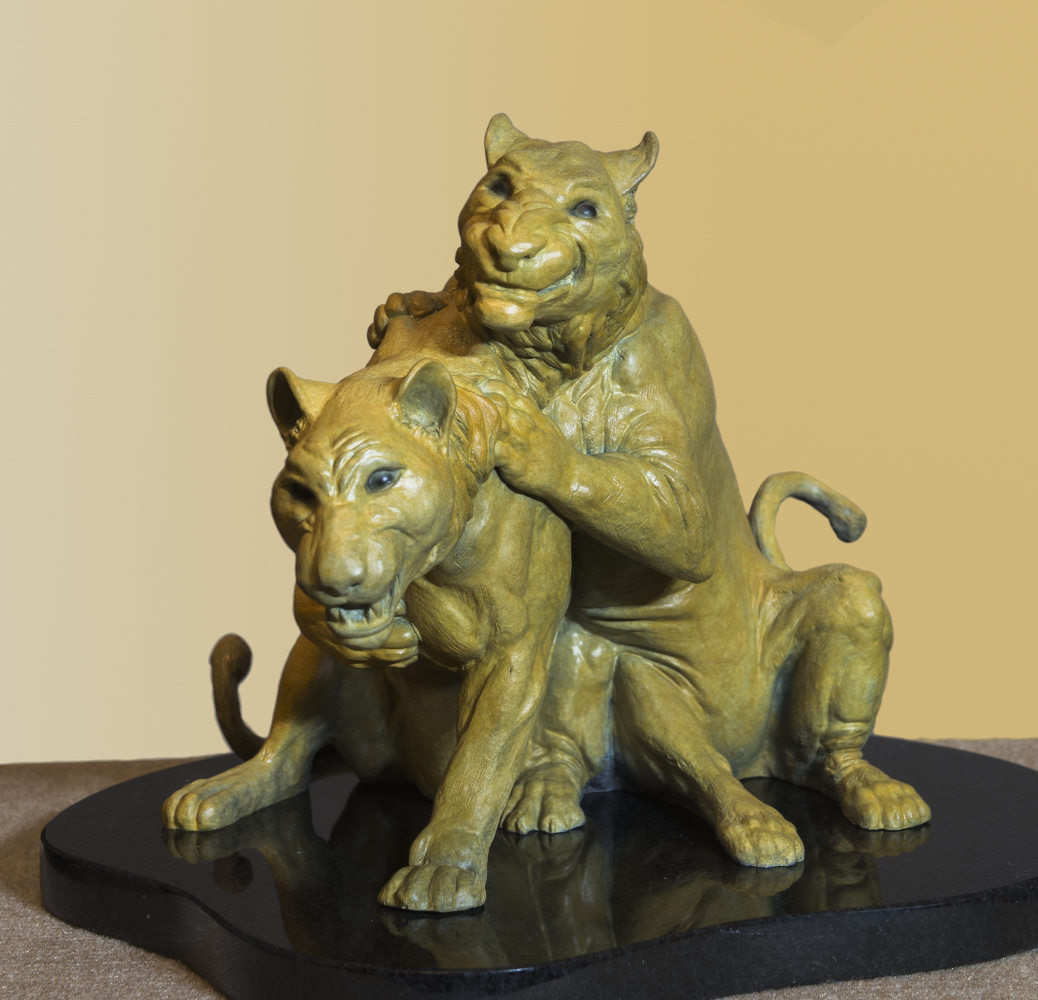 Little Rascals bronze sculpture by Terrence Robertson-Fall -5967.jpg