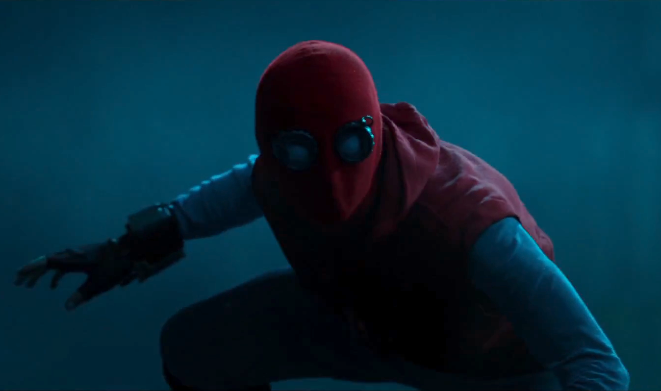 Spiderman in homemade suit - Spiderman: Homecoming