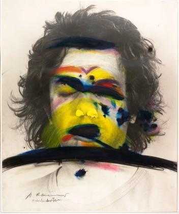 Face Farces: Color Stripes, 1972