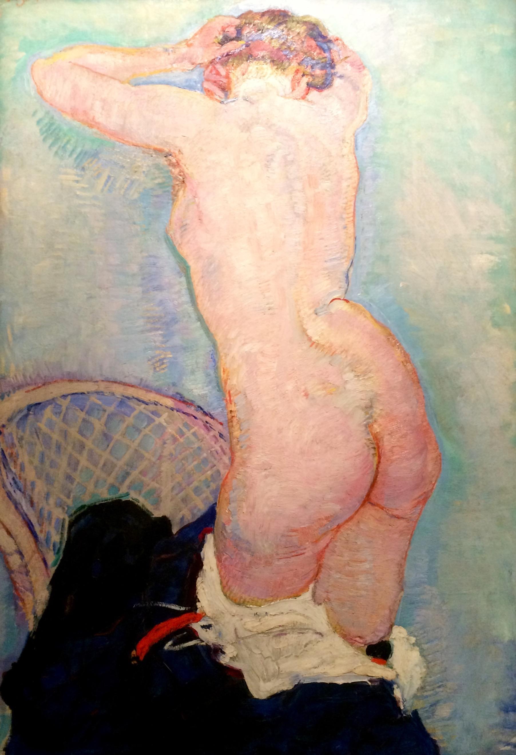 Jan Sluijters, Naakte vrouw, 20e eeuw (© Koninklijk Museum voor Schone Kunsten Antwerpen)