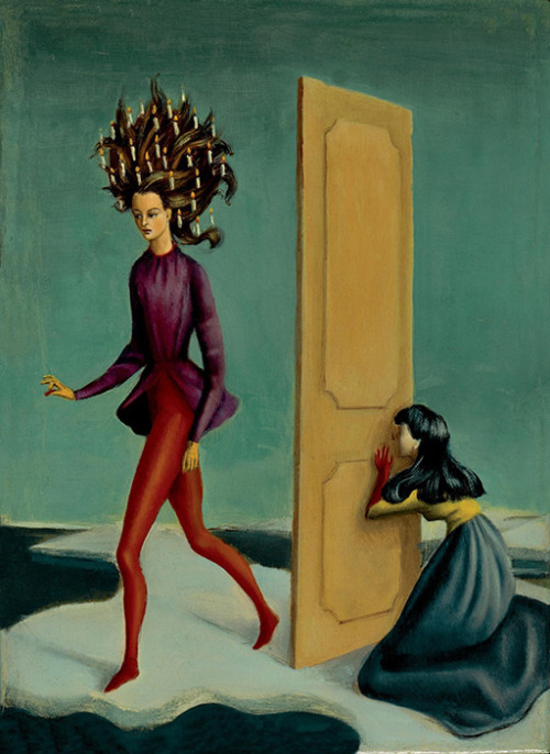 Leonor Fini, Due donne, 1939.
