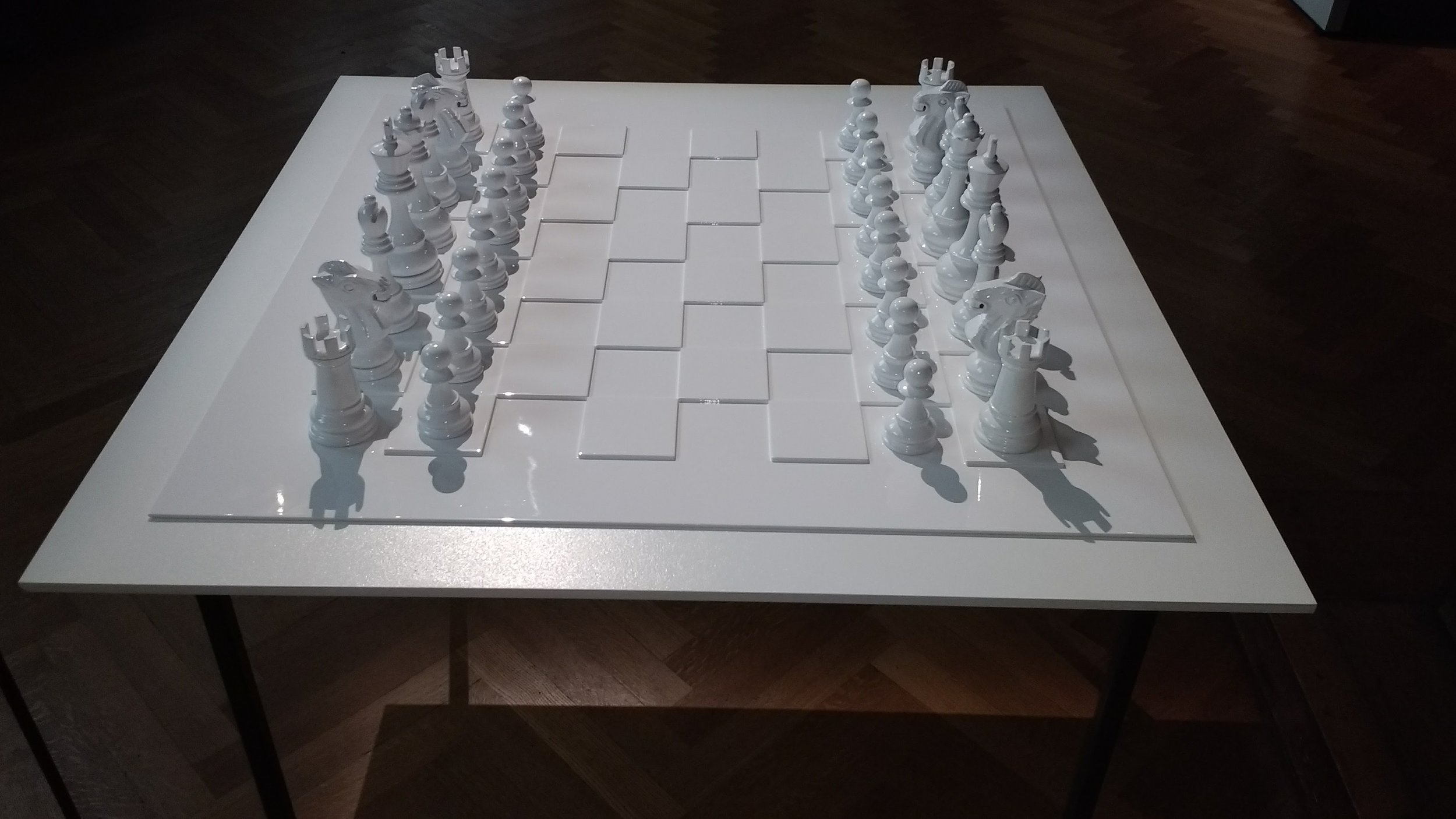 Yoko Ono, 'Play it by Trust' (whie chess set), 1966/2009