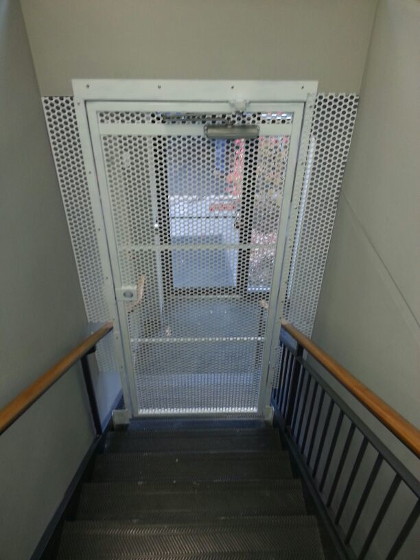 HINGED SECURITY GATE