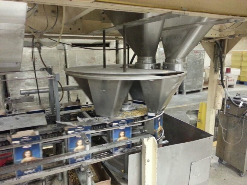 FUNNEL PACKAGING MACHINE