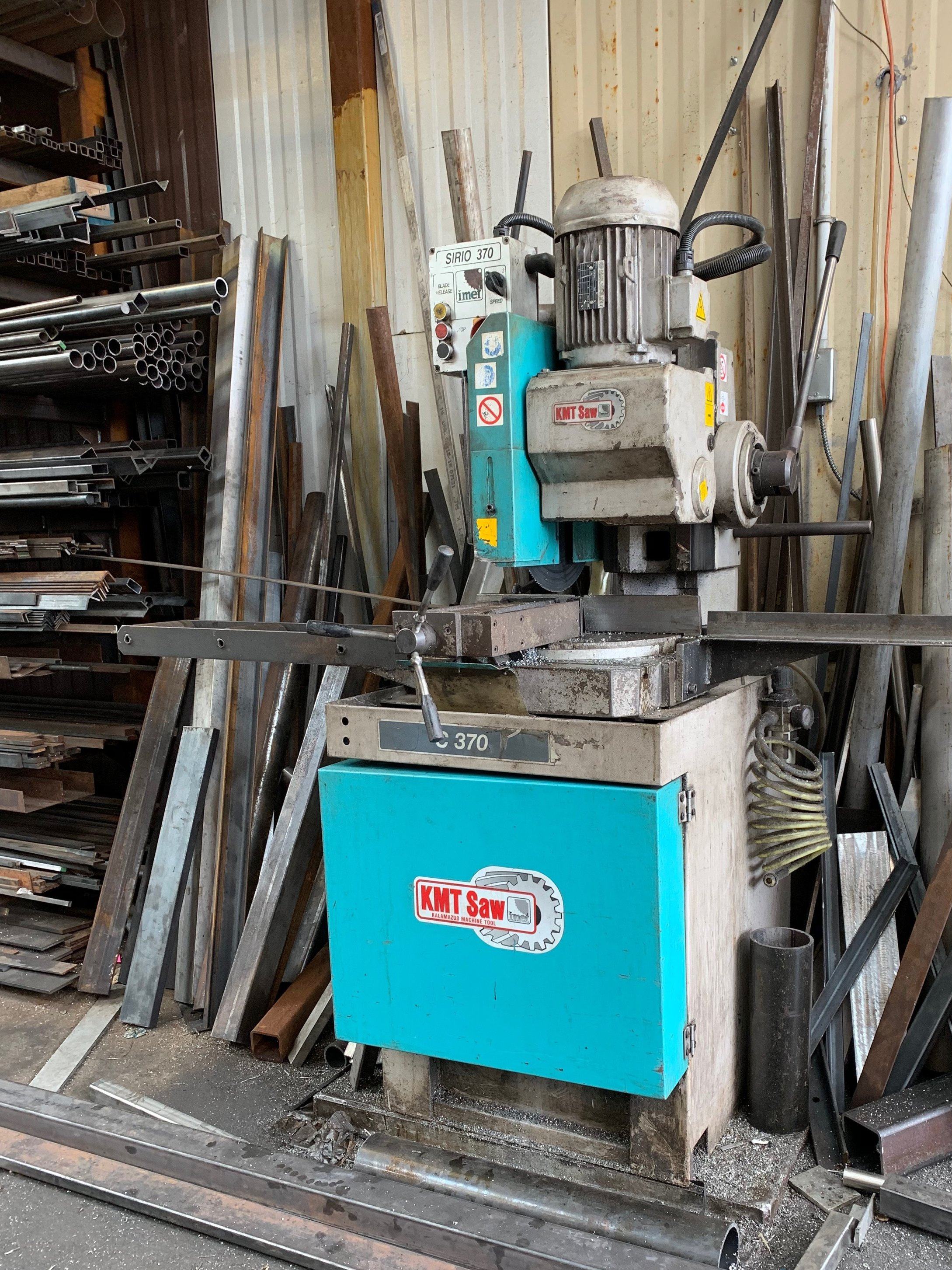 Cold Saw - Cuts steel & stainless steel bar, angle, tube, channel