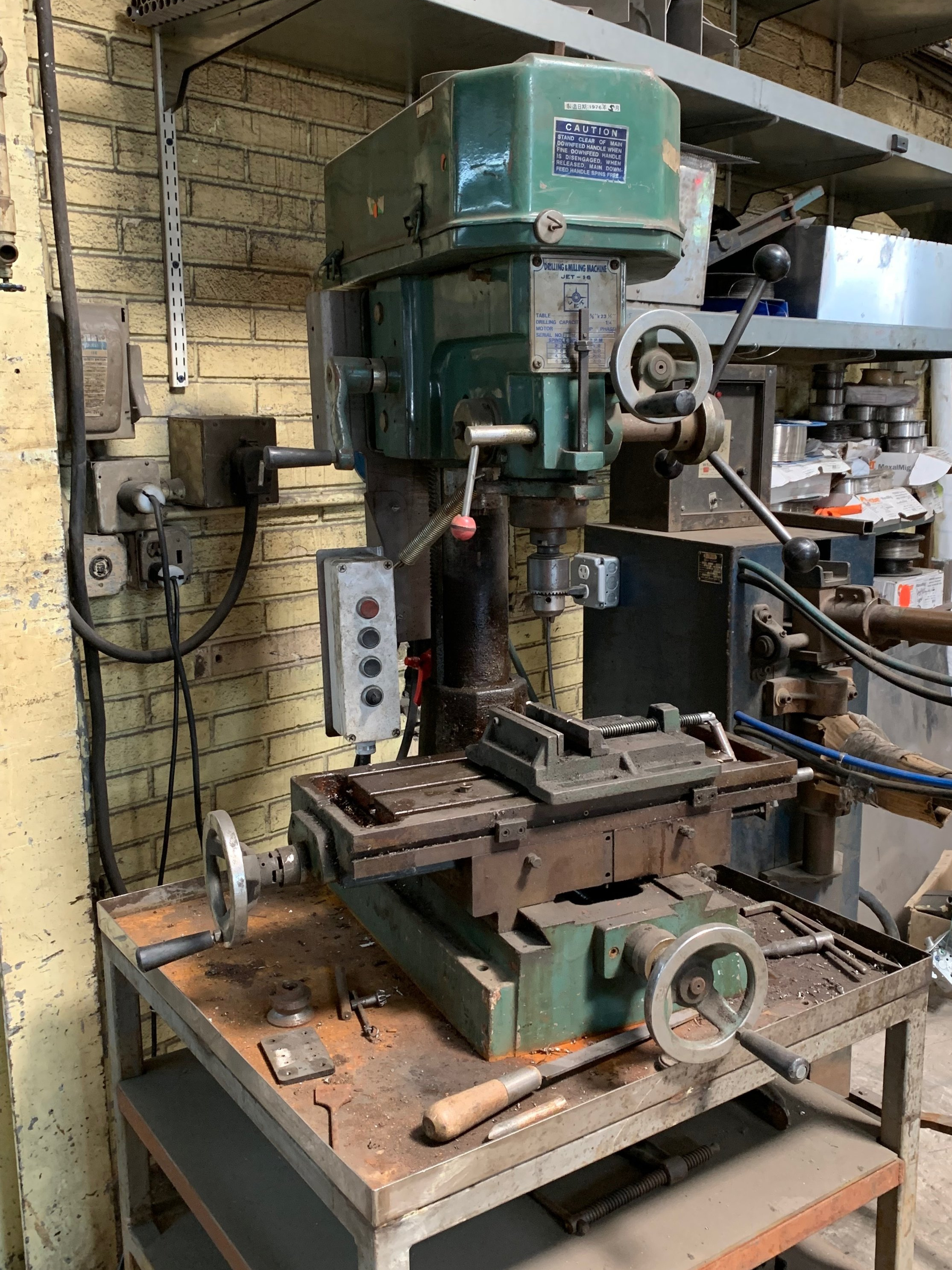 Drill Press - For drilling & tapping material