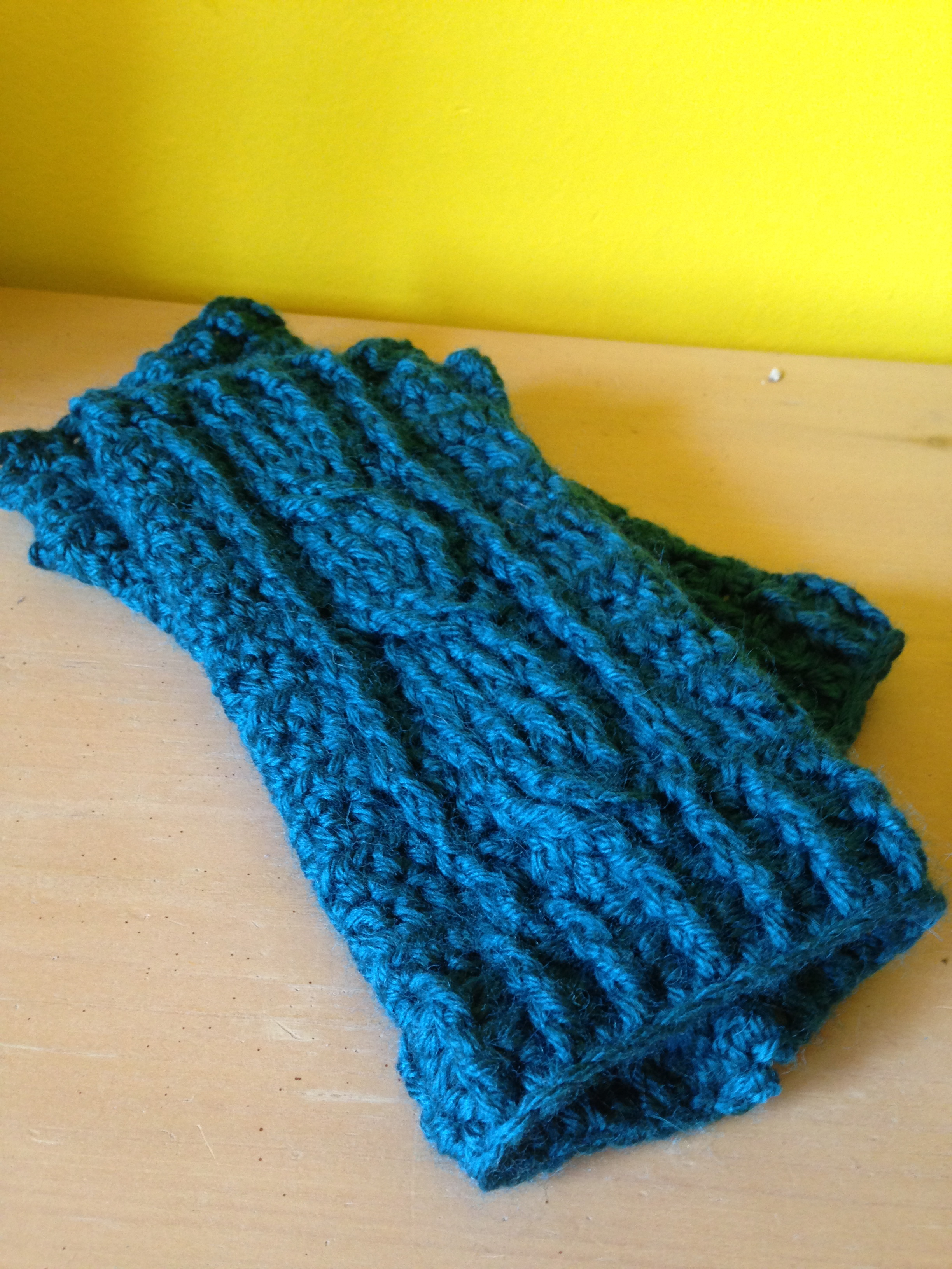 Cabled Hand Warmers