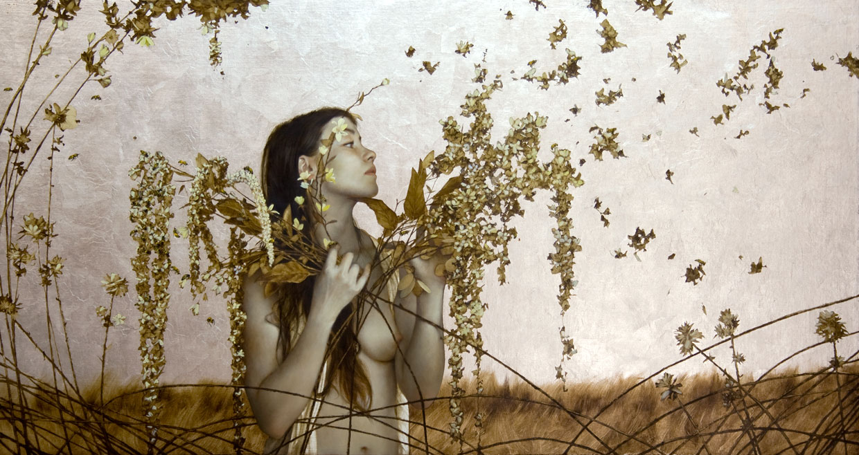 The Bee Healer.  25x38 inches. Private Collection