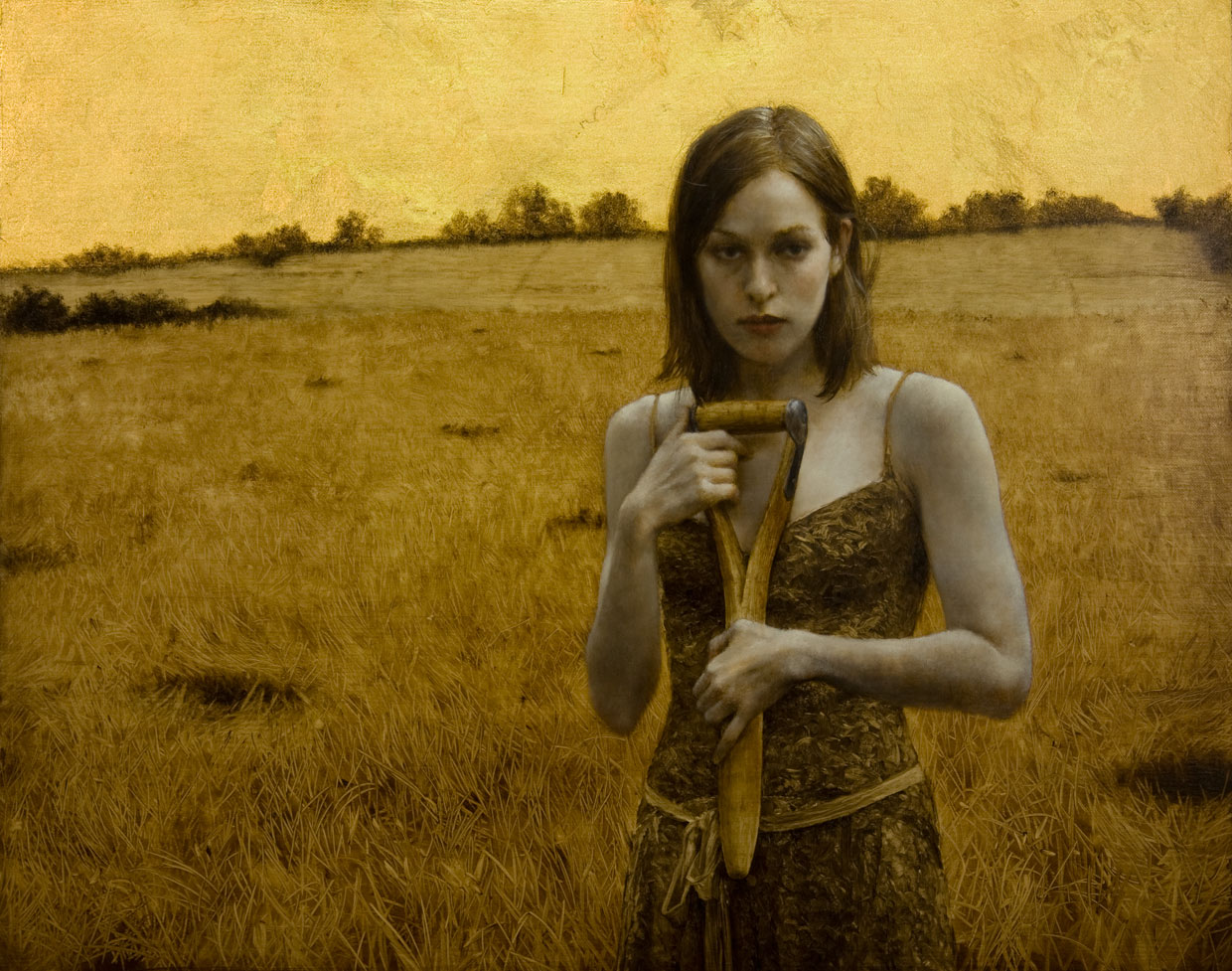 Her Own Field. 16x20 inches. Private Collection