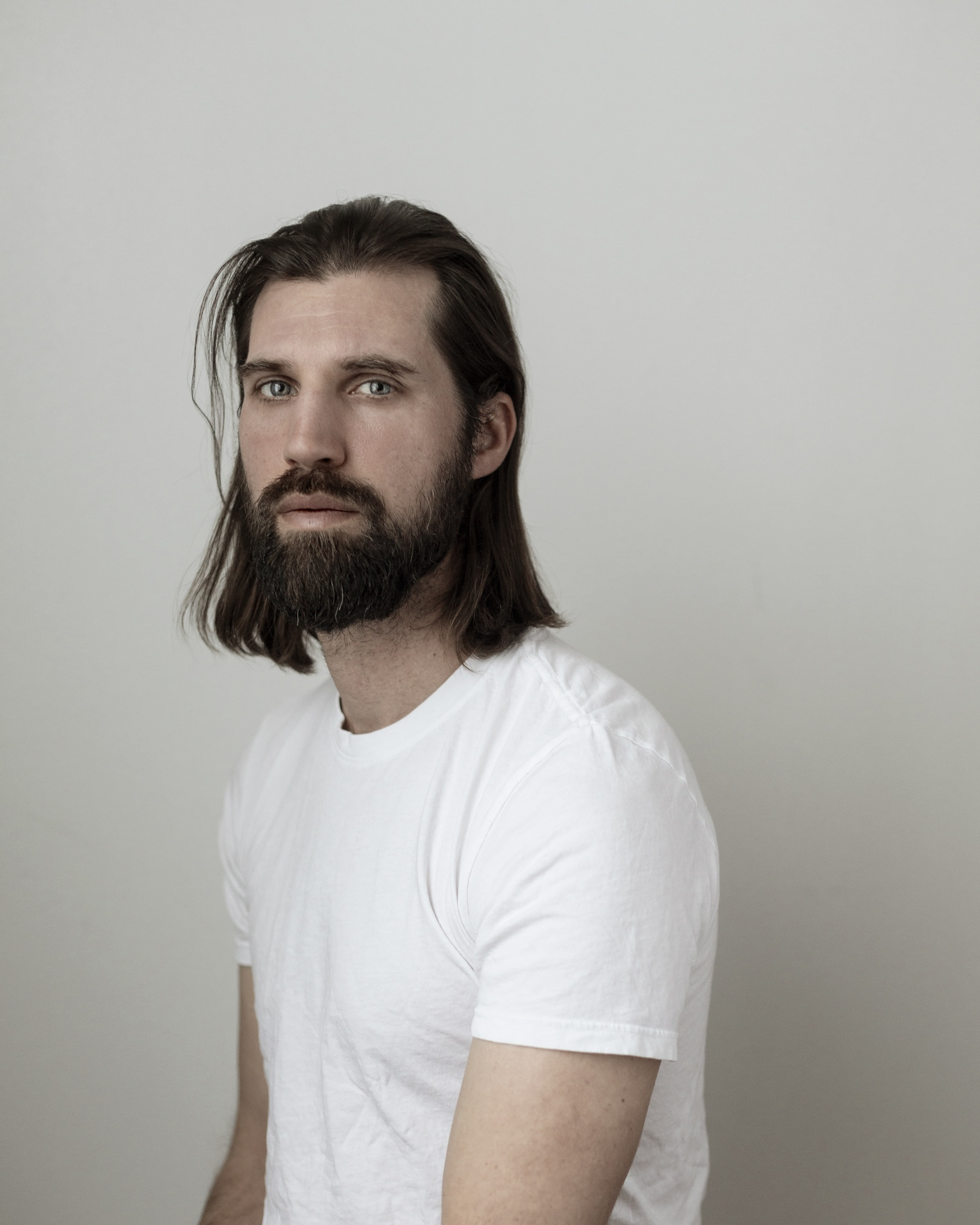 Portrait of the artist by Josh Wool