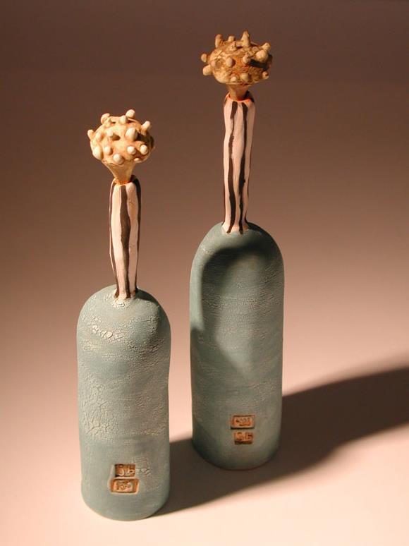 Tall Stopper Bottles