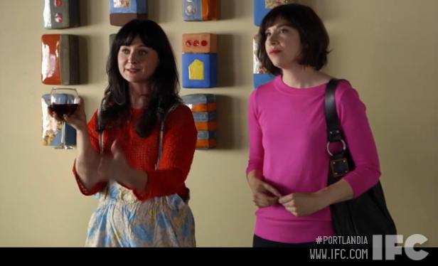 Watch the clip: Portlandia segment filmed in our gallery