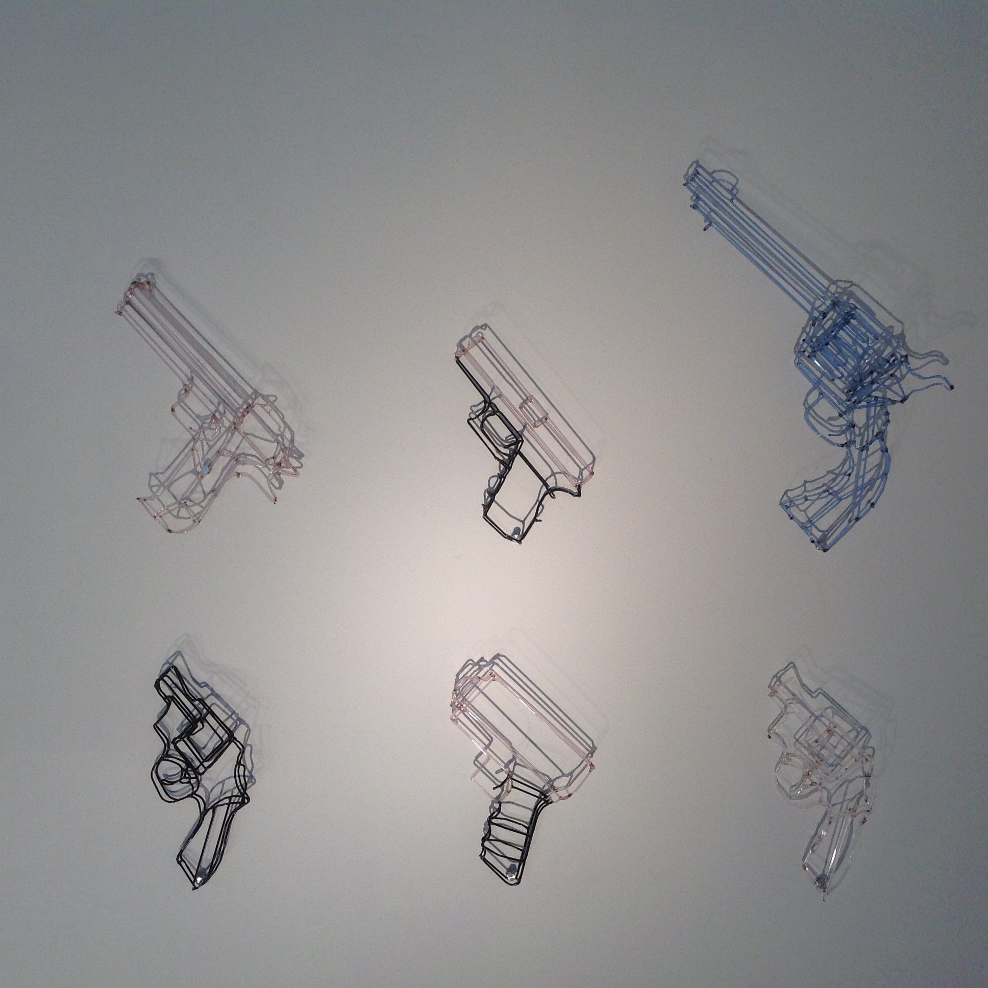 Aldin Huff's glass work