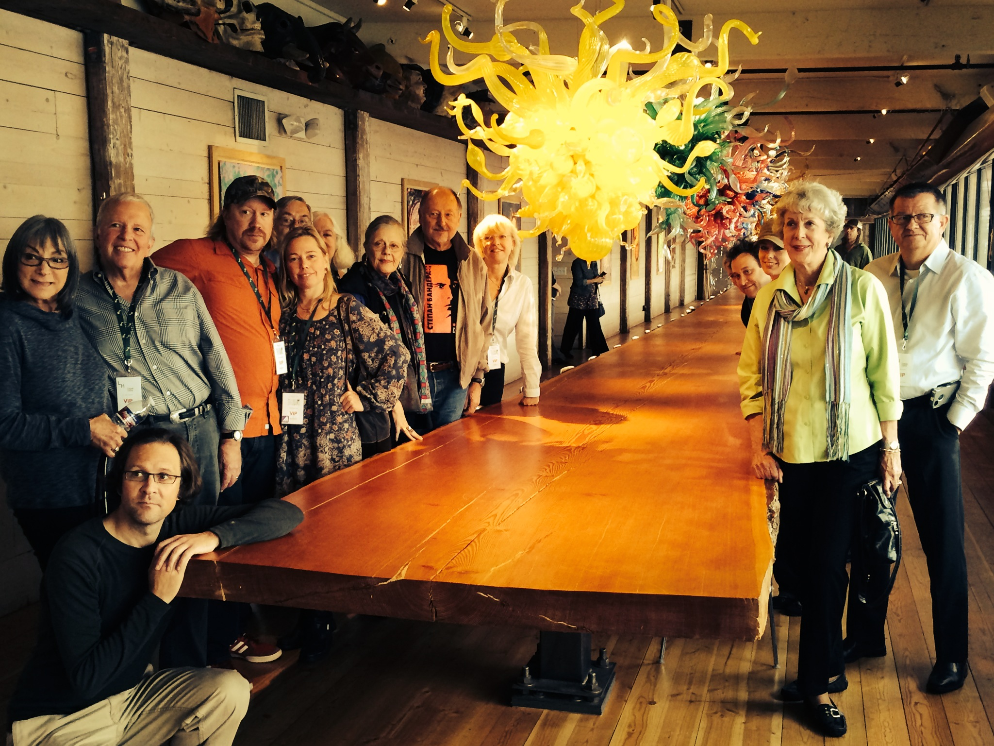 Forbidden Fruit tour at the Chihuly Boathouse