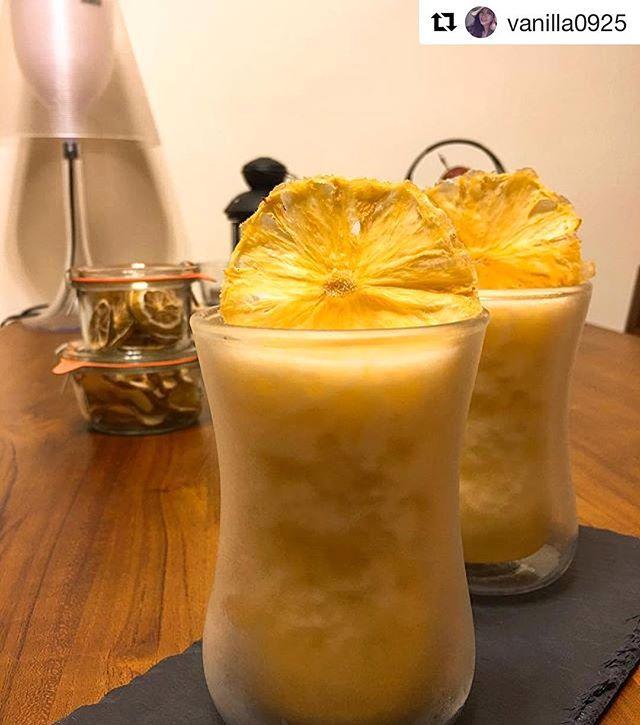 Wow this looks soo nice. Good job @vanilla0925 - Repost ・・・ #Pineapplerum #mibuu