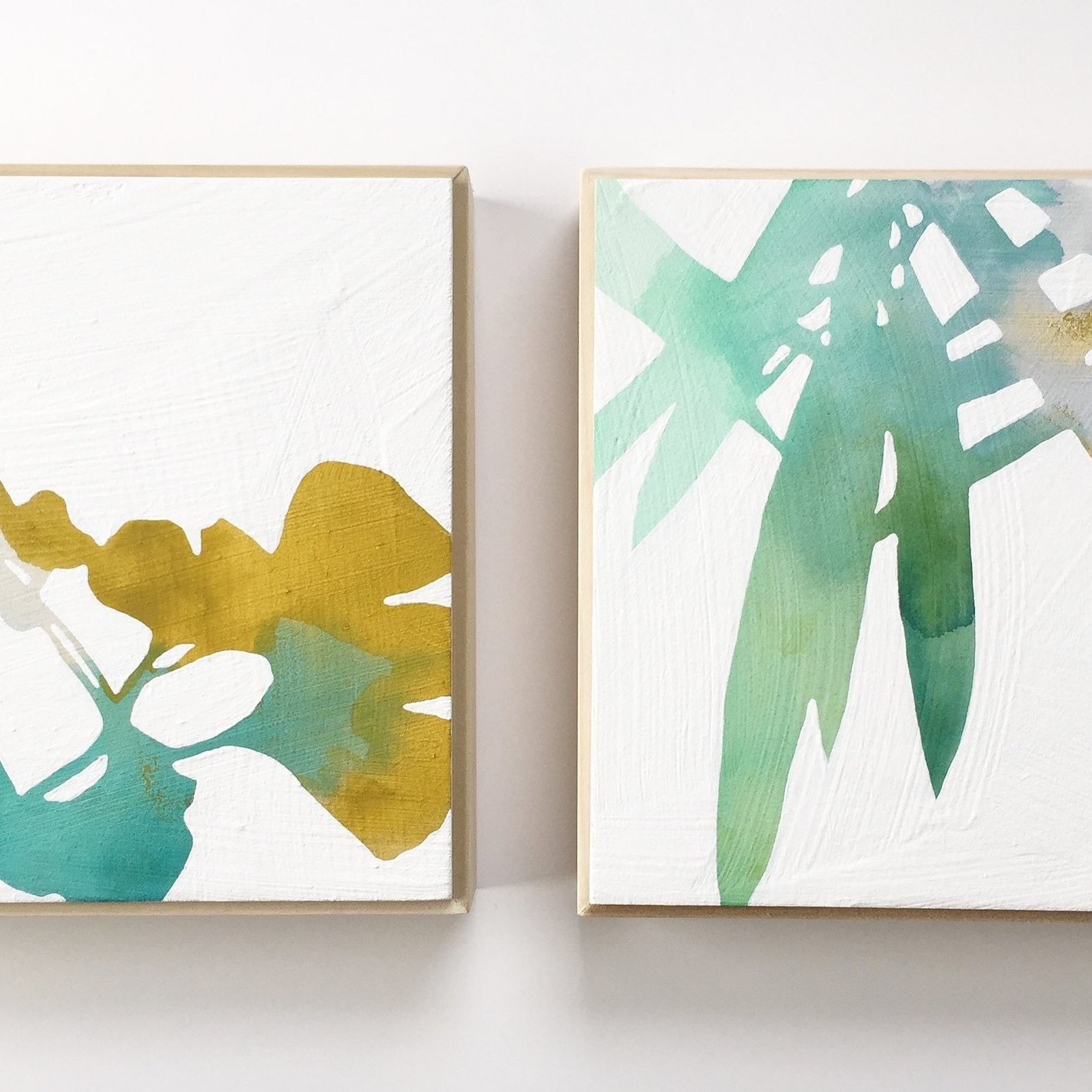 Ginkgo & Bamboo // Botanical Watercolors on Wood   NEW! Rachel Austin Art showroom within    Urbanite    now open! Stop by for cards, prints, paintings and more!    1005 SE Grand Ave, Portland. Open daily from 9-6     Upcoming Happenings   Portland Open Studios Tour  October 12 & 13th, 19 & 20th 10-5pm  Rachel Austin Art at the  Urbanite  Holiday Open House  December 7th  I'll be there from 4 to at least 7pm. Come by for some holiday fun and check out my new space at Urbanite!    Crafty Wonderland Holiday Sale  December 14th & 15th